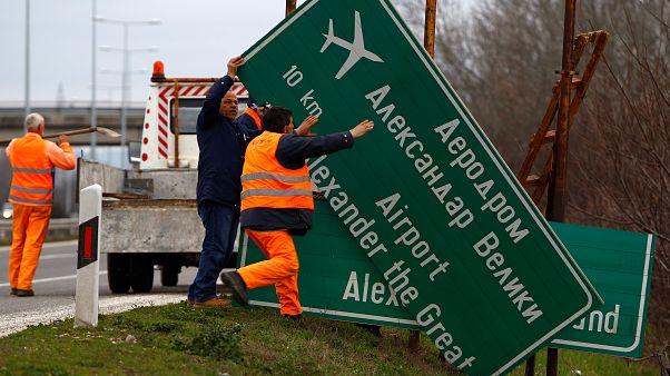 Büyük İskender Havalimanı'nda isim değişikliği