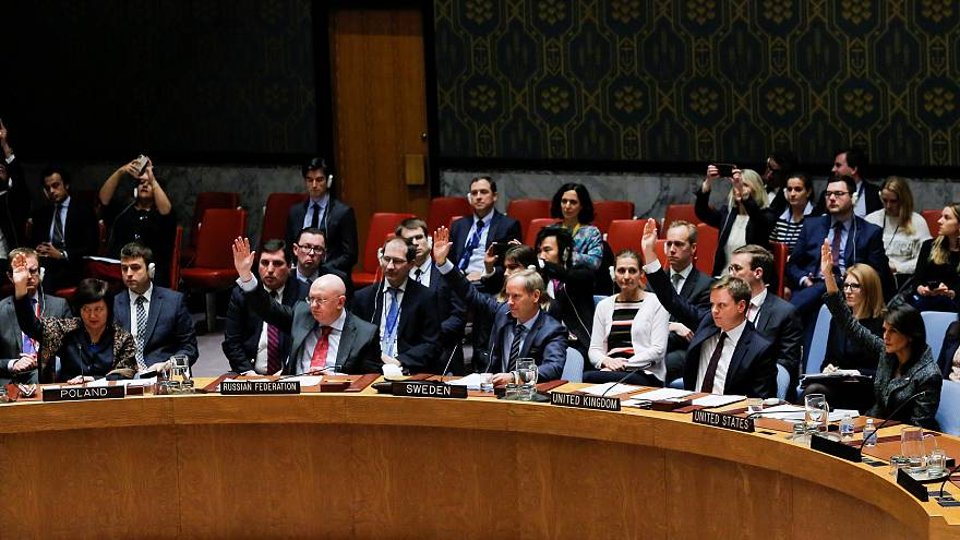 СБ ООН одобрил резолюцию о 30-дневном перемирии в Сирии