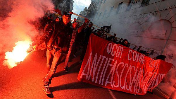 Fasizmusellenes tüntetések Olaszországban