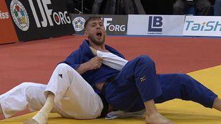 Judo Grand Slam Düsseldorf 2018: Dominic Ressel gewinnt Bronze
