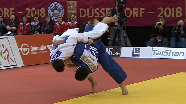 Düsseldorf Judo Grand Slam'de 2. gün