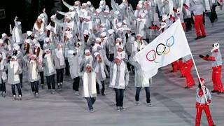 Nem vonulhatnak saját zászló alatt az oroszok Phjongcshangban