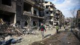 Irán y Siria continuarán atacando la periferia de Damasco pese al alto el fuego