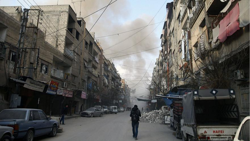 Iran, Syria to continue attacking 'terrorists' in Damascus suburbs: report