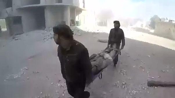 Bombardeamentos regressam a Ghouta Oriental