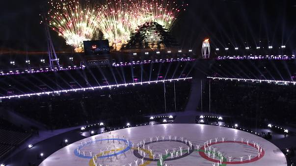 In pictures: Winter Olympics closing ceremony in Pyeongchang