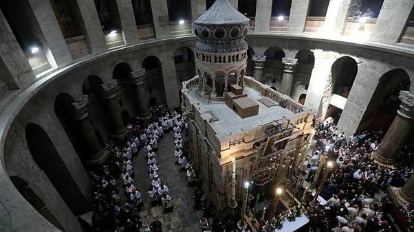 إغلاق كنيسة القيامة بالقدس احتجاجا على السياسة الإسرائيلية الخاصة بالضرائب والأراضي