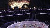 بالصور: حفل اختتام دورة الألعاب الأولمبية الشتوية في بيونغ تشانغ
