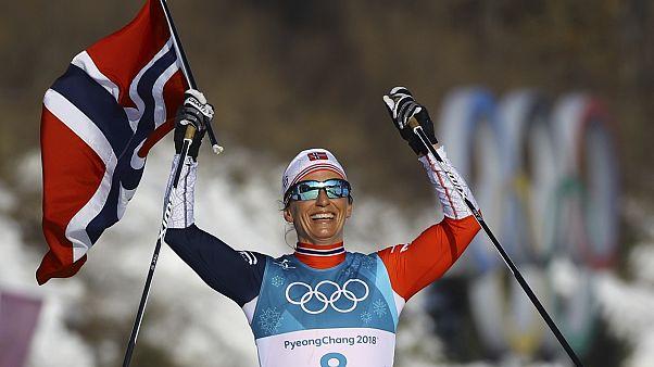 Sacre norvégien au dernier jour des Jeux