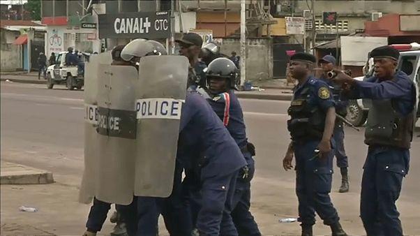 Протесты в Киншасе