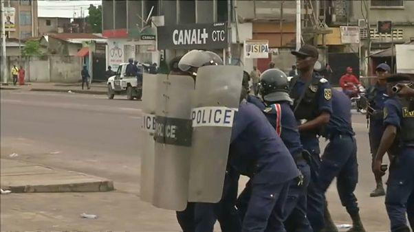 Al menos un muerto en protestas contra el presidente Kabila