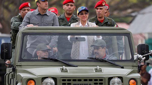 Nicolás Maduro lidera una serie de ejercicios militares en Venezuela