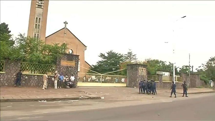 Um morto nos protestos de católicos na RD Congo