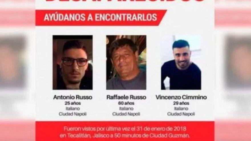 Rapiti e rivenduti per 44 euro i 3 italiani scomparsi in Messico