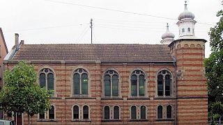 Synagoge in Frankreich.