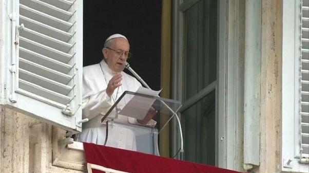 """Papa Francesco: """"In Siria guerra disumana"""""""