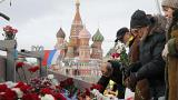 Rassemblement en hommage à Boris Nemtsov à Moscou