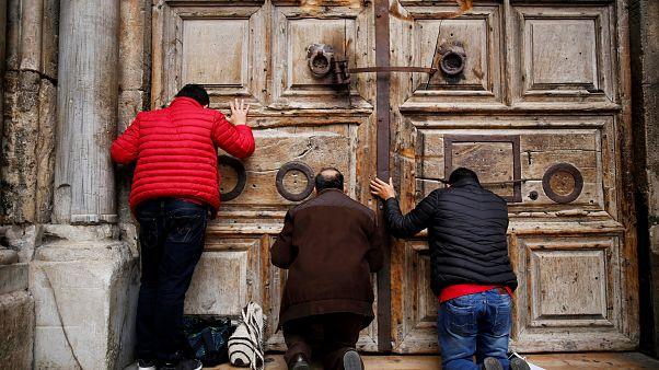 """Santo Sepolcro """"in sciopero"""": """"Vogliono cacciarci"""""""