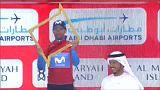 Doble triunfo de Alejandro Valverde en el Tour de Abu Dabi