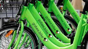 Gobee.bike shuts down services in France after 'mass destruction' of fleet