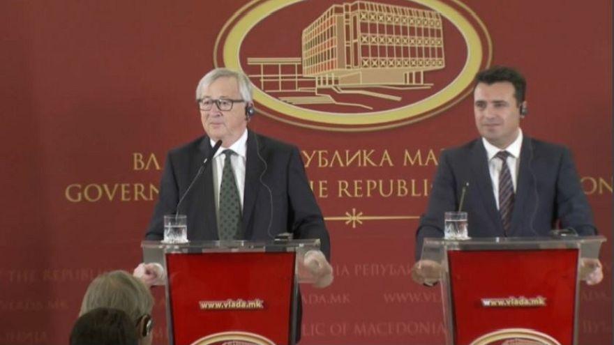 UE: Juncker inizia il tour nei Balcani