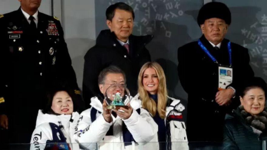 A Korea-közi párbeszéd is az olimpia sikere