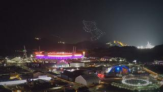 Χορός τραγούδι και πυροτεχνήματα στην Πιονγκτσάνγκ