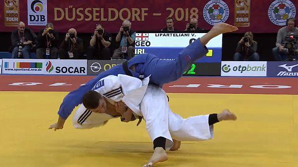 Judo Grand Slam Düsseldorf 2018: Mikhail Igolnikov gewinnt Gold