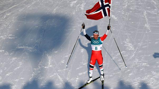 Pyeongchang Kış Olimpiyatları'na rekorlar ve doping skandalı damgasını vurdu