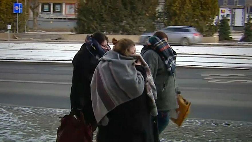 Kältewelle über Europa fordert Todesopfer