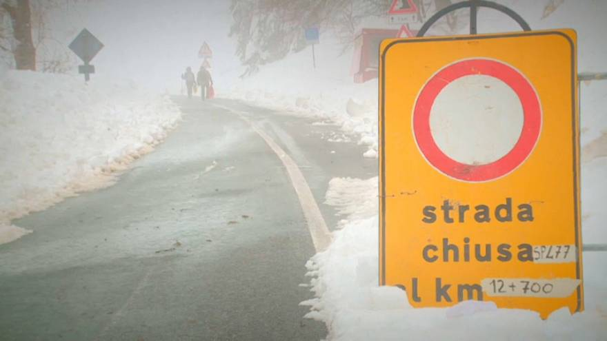 An influx of cold air from Siberia causes the coldest snap of the season
