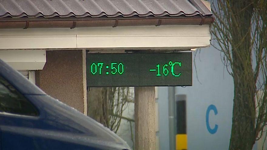 Une vague de froid sibérien déferle sur l'Europe