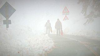 Europa tiembla ante la llegada de una ola de aire frío de Siberia