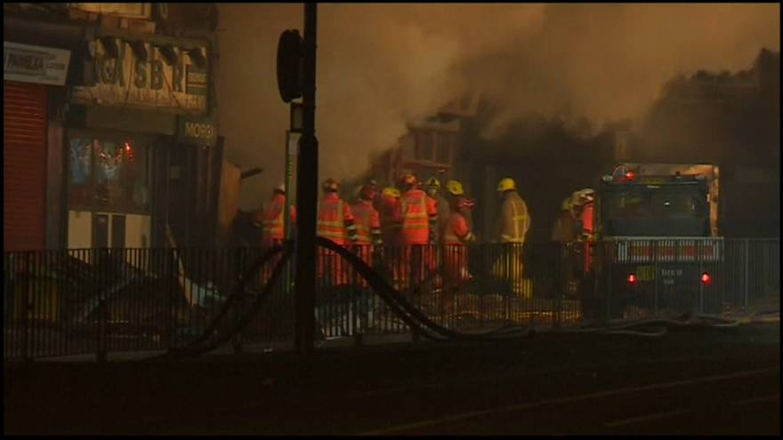 İngiltere'nin Leicester kentinde patlama
