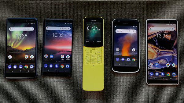 شاهد: نوكيا تطلق سلسلة هواتفها الجديدة 2018