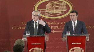 Juncker zum Mazedonien-Namensstreit: Macht euren Job