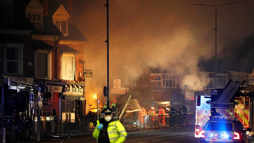 Mindestens 4 Tote nach Explosion in Leicester