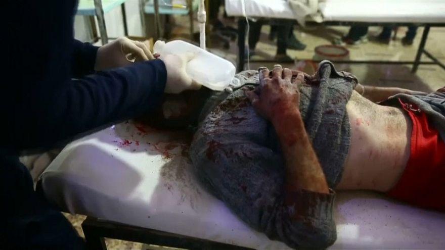 Toujours pas de trêve à la Ghouta et soupçons d'attaque chimique