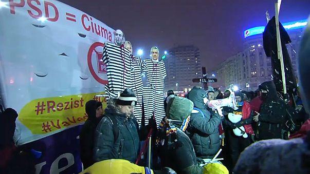 Rumänien: Proteste gegen Absetzung der obersten Korruptionsermittlerin