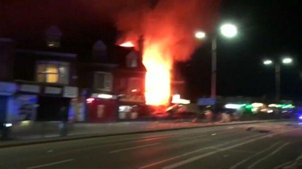 İngiltere'nin Leicester kentinde patlama: 4 ölü