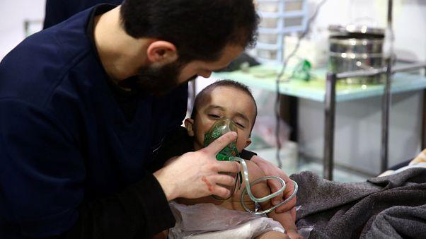 Neuer Giftgasangriff in Syrien? 14 Verletzte mit Atemwegsproblemen in Ost-Ghouta