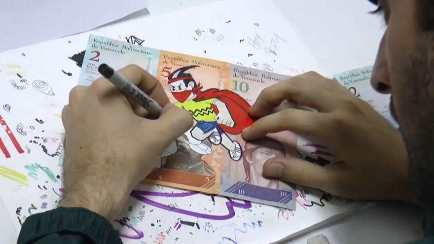 Venezuela'da para pul oldu