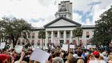 مظاهرة ضد اقتناء السلاح في الولايات المتحدة الأميركية