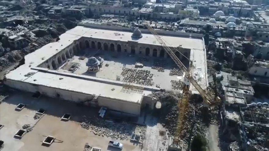 شاهد مدن حلب ودرايا بعد سبع سنوات من الحرب