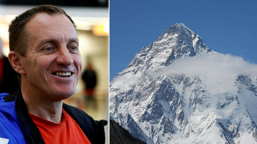 Man's 'suicidal' solo mission to scale mountain is abruptly halted
