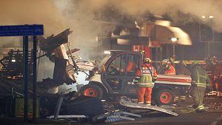 الشرطة تواصل التحقيق بحادثة إنفجار ليستر