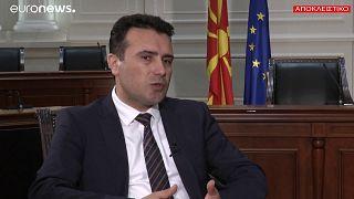 Ζάεφ: «Δεν υπάρχει λόγος αλλαγής Συντάγματος» - Ολόκληρη η συνέντευξη
