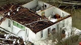 Deadly tornadoes in USA