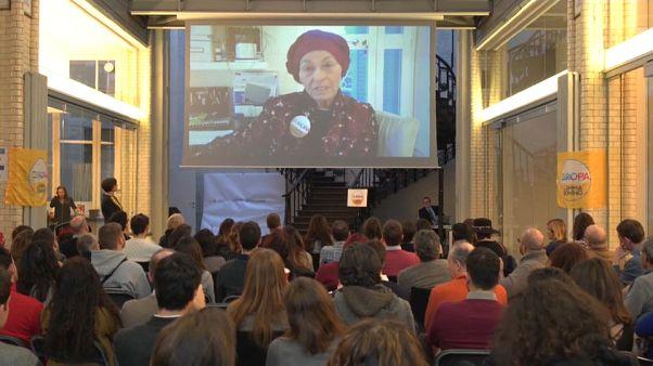 +Europa con Emma Bonino hace campaña en Bruselas