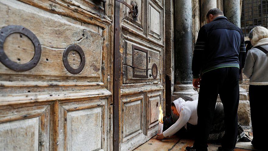 Il Santo Sepolcro in sciopero